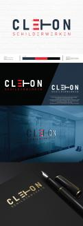 Logo # 1247649 voor Ontwerp een kleurrijke logo voor Cleton Schilderwerken! wedstrijd