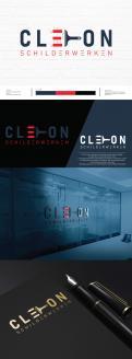 Logo # 1247655 voor Ontwerp een kleurrijke logo voor Cleton Schilderwerken! wedstrijd