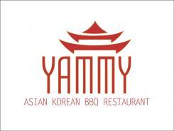 Logo # 1055903 voor ontwerp een horeca logo voor een nieuw te openen asian korean bbq restaurant wedstrijd