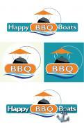 Logo # 1049090 voor Ontwerp een origineel logo voor het nieuwe BBQ donuts bedrijf Happy BBQ Boats wedstrijd