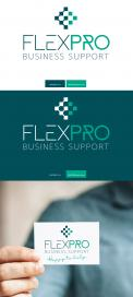 Logo # 1102874 voor Modern logo voor flexibele bedrijfsondersteunende dienst  wedstrijd
