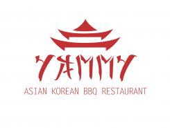 Logo # 1055931 voor ontwerp een horeca logo voor een nieuw te openen asian korean bbq restaurant wedstrijd