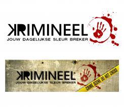 Logo # 588 voor Weblog 'Krimineel' jouw dagelijkse sleur breker - LOGO contest wedstrijd