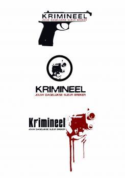 Logo # 593 voor Weblog 'Krimineel' jouw dagelijkse sleur breker - LOGO contest wedstrijd