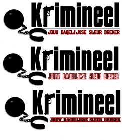 Logo # 506 voor Weblog 'Krimineel' jouw dagelijkse sleur breker - LOGO contest wedstrijd