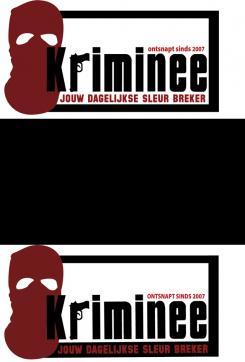 Logo # 545 voor Weblog 'Krimineel' jouw dagelijkse sleur breker - LOGO contest wedstrijd