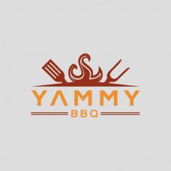 Logo # 1084279 voor ontwerp een horeca logo voor een nieuw te openen asian korean bbq restaurant wedstrijd