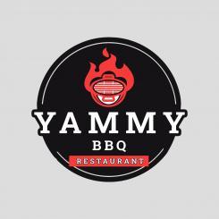 Logo # 1084285 voor ontwerp een horeca logo voor een nieuw te openen asian korean bbq restaurant wedstrijd