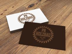 Logo  # 1160315 für Logo fur das Holzbauunternehmen  PR Holzbau GmbH  Wettbewerb