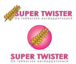 Logo # 390427 voor Ontwerp een hip logo voor de nieuwste aardappelsnack genaamd Super Twister wedstrijd