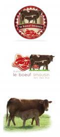 Logo # 336962 voor vleesverkoop aan de consument, van het franse ras limousin wedstrijd