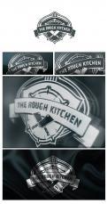 Logo # 383214 voor Logo stoer streetfood concept: The Rough Kitchen wedstrijd