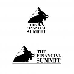 Logo design # 1060772 for The Financial Summit   logo with Summit and Bull contest