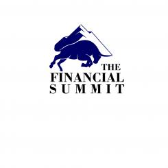 Logo design # 1060759 for The Financial Summit   logo with Summit and Bull contest