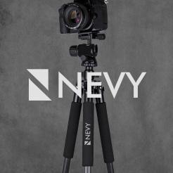 Logo # 1238461 voor Logo voor kwalitatief   luxe fotocamera statieven merk Nevy wedstrijd