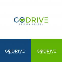 Logo design # 1237993 for Modern and minimalistic logo for at driving school contest