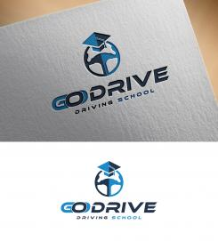 Logo design # 1238203 for Modern and minimalistic logo for at driving school contest
