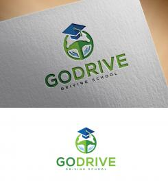 Logo design # 1237812 for Modern and minimalistic logo for at driving school contest