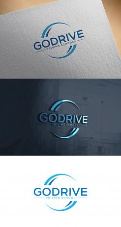 Logo design # 1240122 for Modern and minimalistic logo for at driving school contest