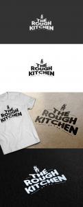 Logo # 382290 voor Logo stoer streetfood concept: The Rough Kitchen wedstrijd