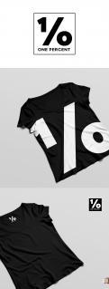 Logo # 950721 voor ONE PERCENT CLOTHING kledingmerk gericht op DJ's   artiesten wedstrijd