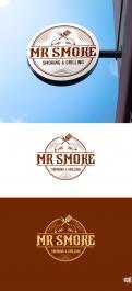 Logo # 1145542 voor Een ruige en stoere BBQ logo en huisstijl wedstrijd