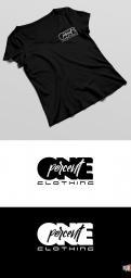 Logo # 951552 voor ONE PERCENT CLOTHING kledingmerk gericht op DJ's   artiesten wedstrijd