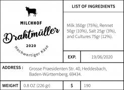 Logo  # 1085046 für Milchbauer lasst Kase produzieren   Selbstvermarktung Wettbewerb