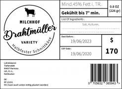 Logo  # 1086182 für Milchbauer lasst Kase produzieren   Selbstvermarktung Wettbewerb
