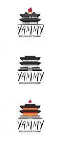 Logo # 1057191 voor ontwerp een horeca logo voor een nieuw te openen asian korean bbq restaurant wedstrijd