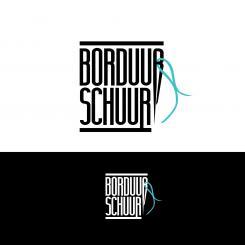 Logo # 1127398 voor Borduurschuur wedstrijd