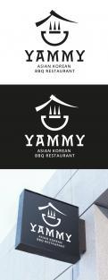 Logo # 1055854 voor ontwerp een horeca logo voor een nieuw te openen asian korean bbq restaurant wedstrijd