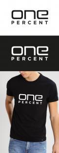 Logo # 952230 voor ONE PERCENT CLOTHING kledingmerk gericht op DJ's   artiesten wedstrijd