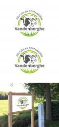 Logo # 1065699 voor Logo voor landbouwbedrijf met melkkoeien en melkgeiten wedstrijd