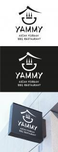 Logo # 1055975 voor ontwerp een horeca logo voor een nieuw te openen asian korean bbq restaurant wedstrijd