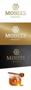 Logo # 1015382 voor Logo voor imkerij MoBees wedstrijd