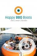Logo # 1048689 voor Ontwerp een origineel logo voor het nieuwe BBQ donuts bedrijf Happy BBQ Boats wedstrijd
