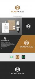 Logo design # 1153579 for modern logo for wood wall panels contest