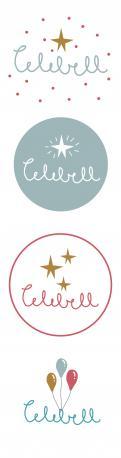 Logo # 1021599 voor Logo voor Celebell  Celebrate Well  Jong en hip bedrijf voor babyshowers en kinderfeesten met een ecologisch randje wedstrijd