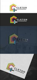 Logo # 1245640 voor Ontwerp een kleurrijke logo voor Cleton Schilderwerken! wedstrijd