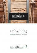 Logo # 324141 voor Ontwerp een pakkend logo voor een nieuw ambachtelijk productiebedrijf voor meubels en inrichting. wedstrijd