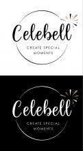 Logo # 1021043 voor Logo voor Celebell  Celebrate Well  Jong en hip bedrijf voor babyshowers en kinderfeesten met een ecologisch randje wedstrijd