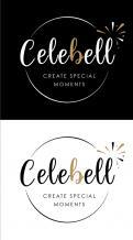 Logo # 1021046 voor Logo voor Celebell  Celebrate Well  Jong en hip bedrijf voor babyshowers en kinderfeesten met een ecologisch randje wedstrijd