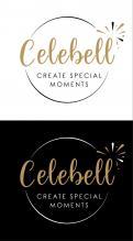 Logo # 1020951 voor Logo voor Celebell  Celebrate Well  Jong en hip bedrijf voor babyshowers en kinderfeesten met een ecologisch randje wedstrijd