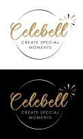 Logo # 1020952 voor Logo voor Celebell  Celebrate Well  Jong en hip bedrijf voor babyshowers en kinderfeesten met een ecologisch randje wedstrijd