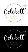 Logo # 1021270 voor Logo voor Celebell  Celebrate Well  Jong en hip bedrijf voor babyshowers en kinderfeesten met een ecologisch randje wedstrijd