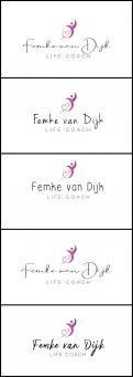 Logo # 964699 voor Logo voor Femke van Dijk  life coach wedstrijd