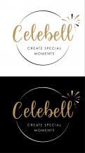 Logo # 1021028 voor Logo voor Celebell  Celebrate Well  Jong en hip bedrijf voor babyshowers en kinderfeesten met een ecologisch randje wedstrijd