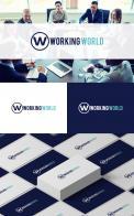 Logo # 1166445 voor Logo voor uitzendbureau Working World wedstrijd
