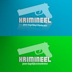 Logo # 577 voor Weblog 'Krimineel' jouw dagelijkse sleur breker - LOGO contest wedstrijd